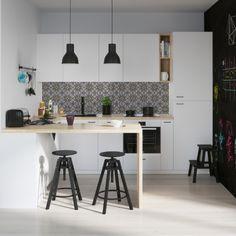 Backsplash AMSTERDAM | Ikea KITCHEN | 123kea