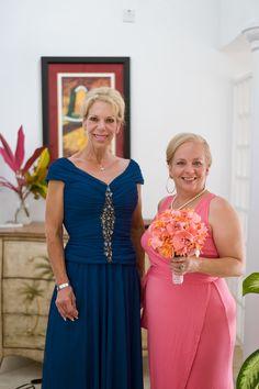 Mothers of the Groom & Bride // Nautical Wedding // @Windjammer Landing #destinationwedding #windjammer #wedding  #nauticalwedding