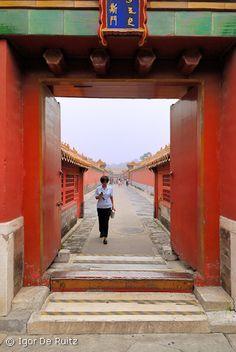 Dag 58: De verboden stad - Beijing, China -   24 augustus 2014