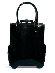 Ted Baker Barley Black Quilted Enamel Trolley Bag Best Travel Bags 19884581ab43d