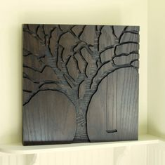 "Rustic Wall Art, Abstract Nature, Modern Wall Art - 23""x23"" -. $250.00, via Etsy."