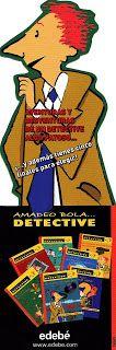 Libros del detective Amadeo Bola.  A partir de 9 años.