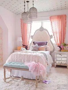 Vintage Princess Royal Style Bedroom