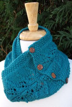 'Branch Out Cowl' by clever. | Knitting Fever Yarns & Euro Yarns