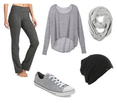 """Grey"" by xampl3449 on Polyvore"