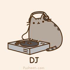 Pusheen - professional DJ.