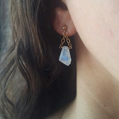 Moonstone earrings by ATELIER Gaby Marcos