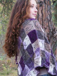 Free and Stylish Shawl for This Season Crochet Patterns Part 9 ; crochet shawls and wraps; Shawl Patterns, Knitting Patterns, Crochet Patterns, Free Knitting, Knitted Poncho, Knitted Shawls, Poncho Outfit, Knit Crochet, Easy Crochet