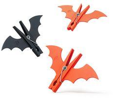 Clothes pins bats