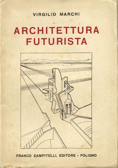 "Architecture futuriste italienne. « In 1914 Antonio Sant'Elia signed the ""Manifesto per un'architettura futurista"", a text coming a few years later the more known ""Manifesto del Futurismo"" (1909) and ""Manifesto dei pittori futuristi"" (1910) ... » http://socks-studio.com/2013/12/08/drawings-and-visions-by-other-italian-futurist-architects/"