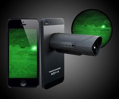 The Snooperscope is a nifty smartphone or tablet accessory for hunters and fishermen seeking night vision. Athletes seeking to capture their accomplishments in the dark. Ghost hunters seeking validation of their obsession. And most of all, snoops se