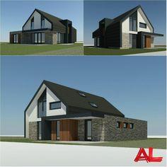 Nieuwe opdracht   Een nieuw te bouwen vrijstaande woning in Plan Emmelhage, Emmeloord. #NieuwbouwwoningEmmeloord ---------- #ProjectInUitvoering #Nieuwbouw #Nieuwbouwwoning #VrijstaandeWoning #Emmeloord #Flevoland #Architecten #Architecture #ArchitectenBureau #ALarchitectuur #ALarchitectuurEmmeloord #HomeDesign #Residential #ResidentialDesign #HouseProject #WorkInProgress