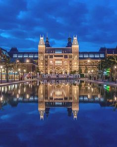 You could watch this view all night or you could go inside the #Rijksmuseum and view the renowned The Night Watch.  And no trip to #Amsterdam is complete without the canals so head over to TripAdvisor to book your Canal Cruise and Skip the Line tour!
