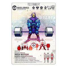 leg exercise: barbell sumo deadlifts skelebro