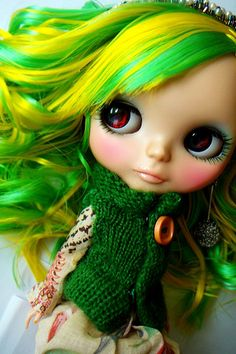wonderful blythe hair