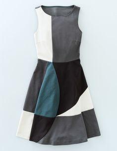 Matilda Ponte Dress WW021 Clothing at Boden