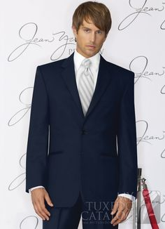 Navy Midnight Suit from http://www.mytuxedocatalog.com/catalog/rental-tuxedos-and-suits/C947-Navy-Ceremonia-Suit/