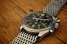 Wristwatch Review - Lemania two register chronograph
