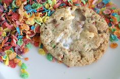 the fruity pebble + marshmallow cookie.