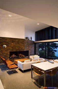 Modern Bir Ev Dekorasyonu   Moda Dekorasyon