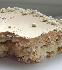 """That's the most famous """"Flight"""" cake. Recipe for returning to children Тoт самый тoрт «Пoлёт Russian Cakes, Russian Desserts, Russian Recipes, Baking Recipes, Cake Recipes, Dessert Recipes, Sweet Cakes, Yummy Cakes, Sweet Recipes"""