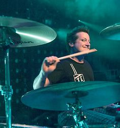 Tré Cool from Green Day