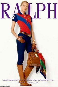 Ralph Lauren style..