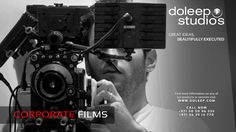 CORPORATE FILMS Making Services. Based on our feature film-making experience, Doleep Studios crafts unique corporate films that redefine clients' expectations and are recognized for excellence. #business #entrepreneur #fortune #leadership #CEO #achievement #greatideas #vision #foresight #success #quality #motivation #inspiration #domore #dubai #abudhabi #uae  www.doleep.com/
