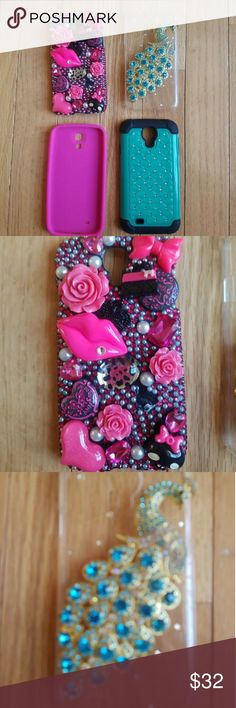 Samsung Galaxy S5 Case BUNDLE This listing is for (3) Samsung Galaxy S5 Phone Cases in AWESOME Condition !!!! Accessories Phone Cases