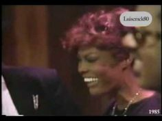 Middle 80's Classic Dionne Warwick, Elton John, Gladys Knight and Stevie Wonder Great Song Vid