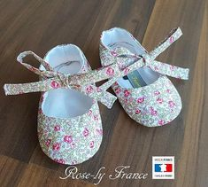 Chaussons ballerines bébé liberty Eloise