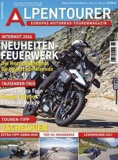 ALPENTOURER 6/2016 Honda, Vehicles, Touring, Alps, Viajes, Rolling Stock, Vehicle, Tools