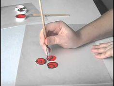 Видео мастер-класс по городецкой росписи «Ягодки» - Ярмарка Мастеров - ручная работа, handmade