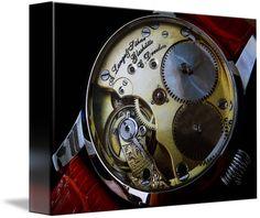 "A. Lange & Sohne Swiss Watch $62 // Style: Soft Edge Canvas Print; Size: Petite 8"" x 10"" // Visit http://www.imagekind.com/A-Lange--Sohne-Swiss-Timepiece_art?IMID=f59c96d5-ffd1-4161-90e3-0361617473b8 for product details."