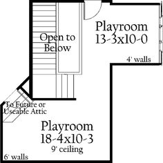 Home Plans - Square Feet, 4 Bedroom 4 Bathroom French Country Home with 3 Garage Bays Dream House Plans, House Floor Plans, My Dream Home, Dream Houses, Bathroom Chandelier, Attic Playroom, French Country House, Residential Architecture, Southern Style