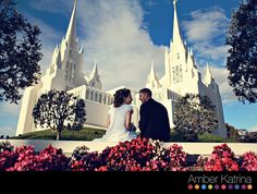 If I could pick any temple to get married in, I think I would pick this one!