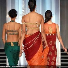 Designs for the blouse backs. #Saree #indian wedding #fashion #style #bride #bridal party #brides maids #gorgeous #sexy #vibrant #elegant #blouse #choli #jewelry #bangles #lehenga #desi style #shaadi #designer #outfit #inspired #beautiful #must-have's #india #bollywood #south asain