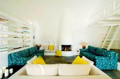 Private villas Santorini. Architect's house