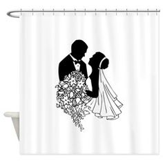 Newlyweds Shower Curtain> Drawings / Designs> The Shower Curtain