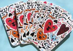 Heartwarmers Sticker by ultraterrestrial on Etsy, $1.00