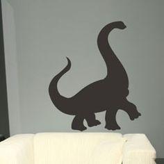 Chalkboard Dinosaur Wall Decal