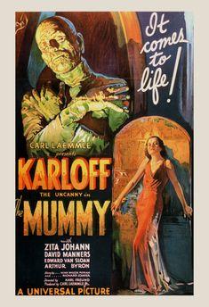 CLASSIC MOVIE POSTER Boris Karloff Poster by EncorePrintSociety