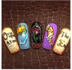 Once upon a time.... by Oli123 - Nail Art Gallery nailartgallery.nailsmag.com by Nails Magazine www.nailsmag.com #nailart