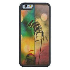 Rainbow Grass Drama Wood iPhone 6 case