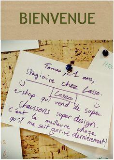 Tomas débarque chez Lasso, la marque de chaussons à monter soi-même, Made In France et fabriqués dans un ESAT. Retrouvez-le au fond des Arbres et sur tomaspadrino196@gmail.com. Bienvenue !