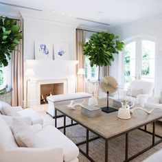 Such a beautiful living room by @jkkling Ill take a seat  Whos with me? And you can find those chairs for a steal on my blog today!  #livingroom #livingroomdecor #livingrooms #thelivingroom #livingroomdesign #CopyCatChic