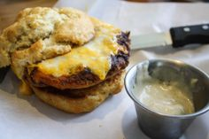 Grub Burger Bar January 2014 Market Burger: Chicken Fried Burger
