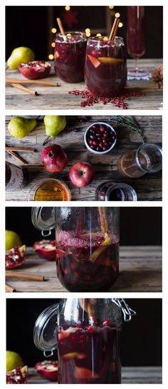 Our Holiday Sangria will make the perfect edition to your party this season!