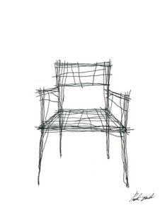 Drawing Furniture Series by Jinil Park - News - Frameweb