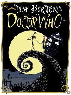 Tim Burton's Doctor Who....